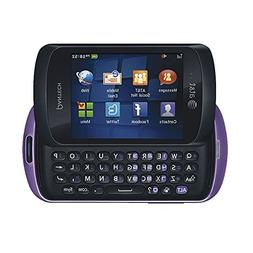Pantech Swift P6020 AT&T Locked Slider Cell Phone - Purple