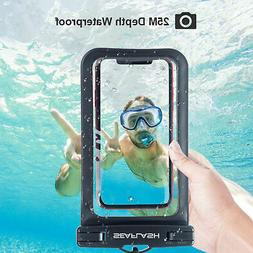 Swimming Waterproof IPX8 Underwater Pouch Bag Pack Dry Case