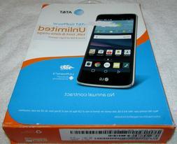 """NEW AT&T LG Phoenix 2 GoPhone, 4G LTE, 16GB, 5"""" HD + FREE Ex"""