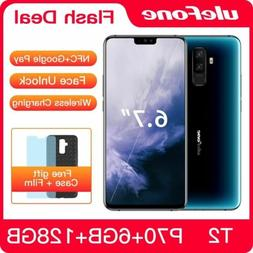 Ulefone T2 Smartphone Android 9.0 6GB 128GB Dual 4G Cell Pho