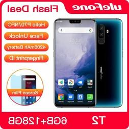 Ulefone T2 Smartphone Android 9.0 Dual 4G Cell Phone 6GB 128