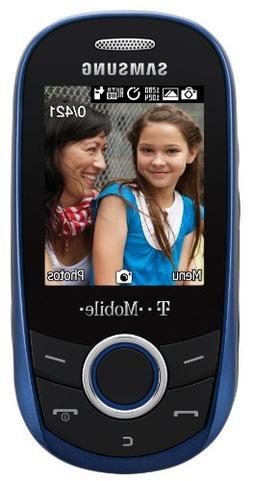 Samsung T249 Prepaid Phone, Blue