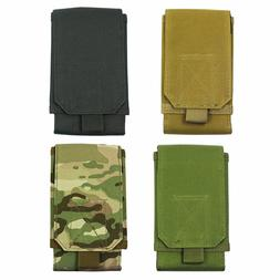 Tactical Army MOLLE Hook Loop Belt Pouch Holster Case Cell P
