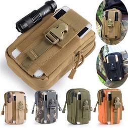 Tactical Belt Pouch Bag Waterproof Waist Pack Sport Bags <fo
