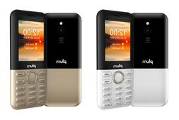 "Plum TAG-3G Factory Unlocked Cell Phone 2.4"" Display Big Key"