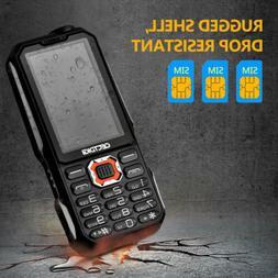 Three SIM card Shockproof mobile phone Cectdigi T19 Power Ba