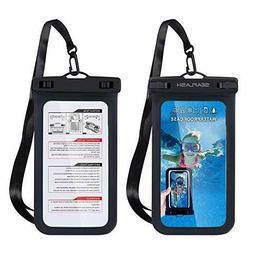 TJS Universal Swimming Waterproof IPX8 Case Cellphone Dry Ba