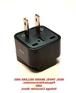 Tmvel Universal International Power Adapter Plug Tip Convert