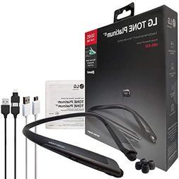 LG Tone Platinum Alpha HBS-930 HD Bluetooth Headset Black- H