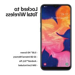 Total Wireless Samsung Galaxy A10e 4G LTE Prepaid Smartphone