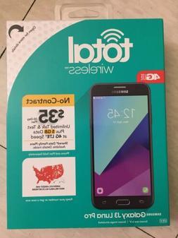 Total Wireless Samsung Galaxy J3 Luna Pro 4G LTE  BRAND NEW