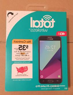 Total Wireless Samsung Galaxy J3 Luna Pro 4G LTE Prepaid Sma