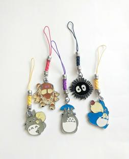 totoro friends anime cell phone dust plug