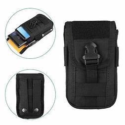 Universal Tactical Mobile Cell Phone Belt Pack Bag Pocket Mo