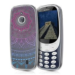 kwmobile TPU Silicone Case for Nokia 3310 3G 2017 / 4G 2018