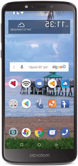 Tracfone Carrier-Locked Motorola Moto e5 4G LTE Prepaid Smar
