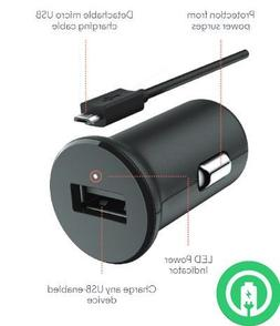 Turbo Fast Powered 15W Car Charger works with Samsung Galaxy