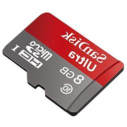 Professional Ultra SanDisk 8GB MicroSDHC Card for Pantech Pu