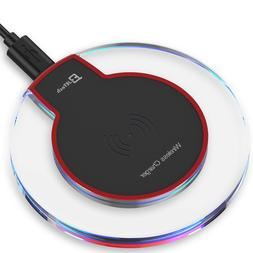 JETech Wireless Charger Qi Charging Pad for iPhone XS Max XR