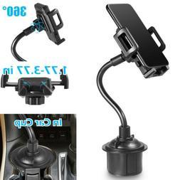 universal 360 adjustable car mount gooseneck cup