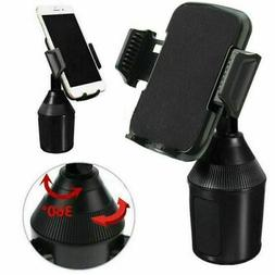 Universal Adjustable Phone Cup Holder Car Mount for iPhone C