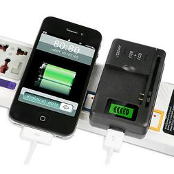 LCD Universal Indicator Battery Charger With USB Port For Ce