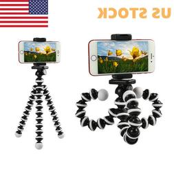 Universal Mobile Phones Holder Flexible Octopus Tripod Stand