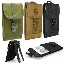 Universal Molle Tactical Cell Phone Waist Pouch Belt Pack Ba
