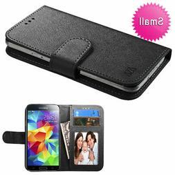 Universal MyJacket Wallet Slim Flap Case Card Slots ID Black