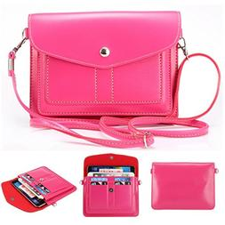 Universal Fashion Soft PU Leather Cell Phone Bag Purse Case