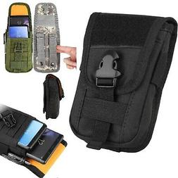 Universal Tactical Cell Phone Belt Pack Bag Pocket Molle Wai