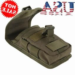 Universal Tactical Cell Phone Belt Pack Bag Molle Waist Pouc