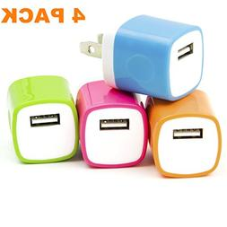 Asstar Universal USB Power Adapter Wall Charger, Easy Grip