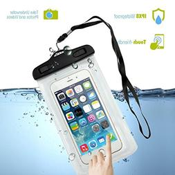 Universal Waterproof Case, Firefish Dry Bag Phone Pouch for