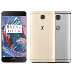 Unlocked OnePlus 3T A3000 64GB Dual-SIM LTE GSM Android Smar