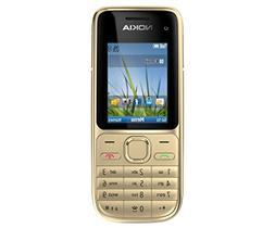 Unlocked Nokia C2-01 Bar Keys Mobile phone Old man mobile ph