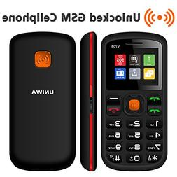 Unlocked Cell Phone, UNIWA Dual SIM Senior Phone GSM Cell Ph