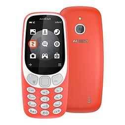 Nokia 3310 3G 2017  128MB 2.4-inches Factory Unlocked - Inte