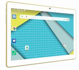 "Plum Unlocked Tablet Phone Phablet 10.1"" Display Google Cert"