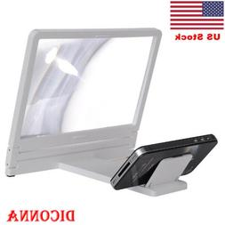 US 3D Enlarged Screen Mobile Phone Amplifier Magnifier Brack