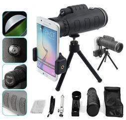 US 40X60 Zoom Optical Monocular Mobile Phones Camera Lens Te