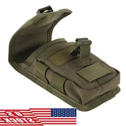 USA Universal Tactical Cell Phone Belt Pack Bag Molle Waist