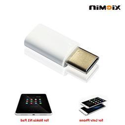 XIEMIN USB 3.1 Type C Male to Micro USB Female Converter Con