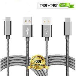 USB Type C Cable, Daker USB C to USB A Charger , Nylon Braid