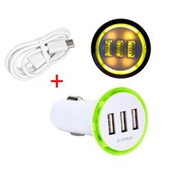 USB Data Hstore Car USB Adapter Charger Charging Metal Socke