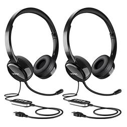 Mpow  USB Headset/ 3.5mm Computer Headset with Microphone No