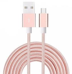 I-Sonite  Premium Quality  USB Micro USB Cable Nylon Braided