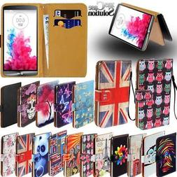 For Various LG Mobile Phones - New Leather Wallet Card Stand