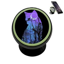 LLCCAR Vehicle Phone Mount Cat inside Cat Holder Magnetic Un