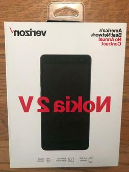 VERIZON NOKIA 2 V PREPAID SMARTPHONE TA-1136 BRAND NEW